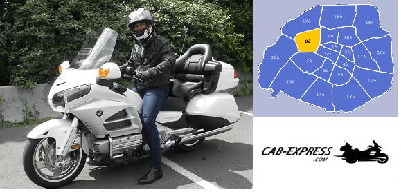 Taxi Moto Paris 8