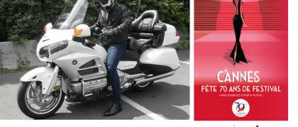 Moto Taxi Festival de Cannes