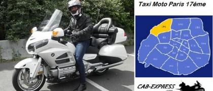Moto Taxi Paris 17